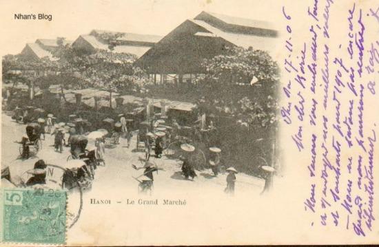 Dòng lưu bút đề ngày 17/11/1906