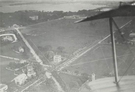 013.Hà Nội chụp từ trên máy bay Pháp - Con phố Điện Biên Phủ bây giờ