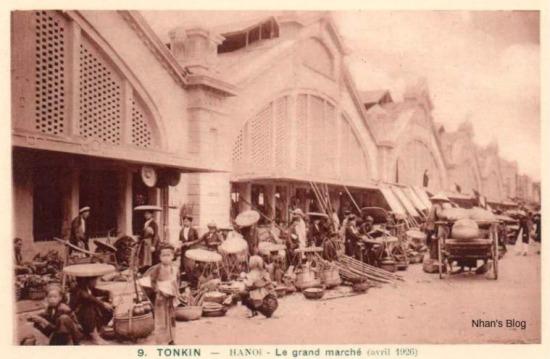Hình ảnh chợ tháng Tư năm 1926