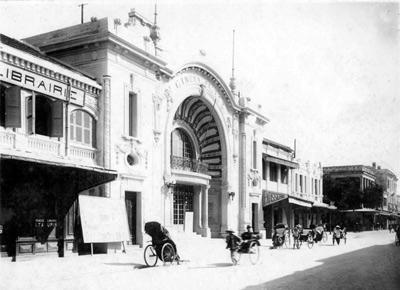 023.Rạp chiếu phim  đầu tiên của Hà Nội - Palace,  tại phố Nguyễn Xí