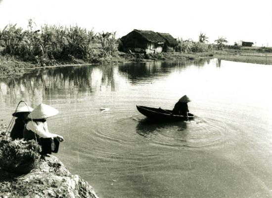 024.Khung cảnh thôn quê ngoại ô Hà Nội.