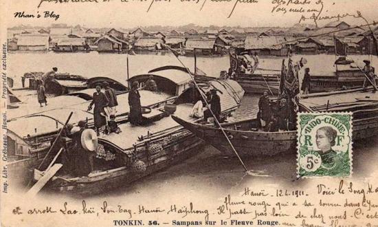025.Thuyền trên sông Hồng