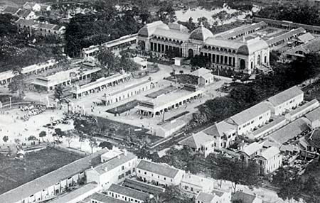 028.Khu Đấu Xảo nay là Cung Văn Hóa Hữu Nghị Việt-Xô năm 1923.