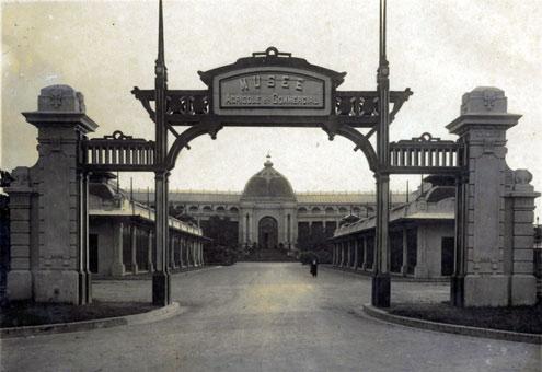 028.Nhà đấu xảo (trung tâm thương mại một thời), nay là Cung văn hóa Hữu nghị.