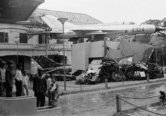 034-HANOI 1979-Bảo tàng Quân đội nhân dân