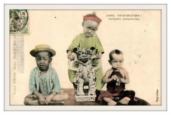 036.Trẻ con Nam Bộ