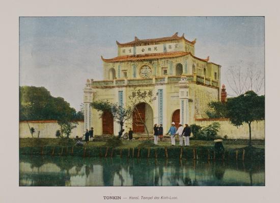 1880 Tonkin. Hanoi. Kinh-Luoc Pagoda
