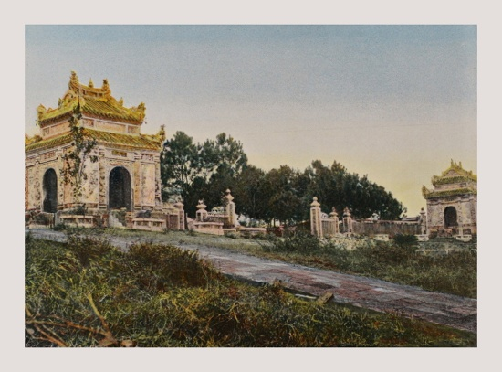 1898 ANNAM Necropolis of King Dong-Khanh's Father in Hue
