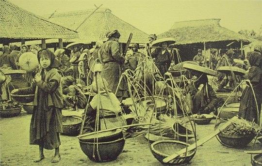 Chợ ở ngoại thành