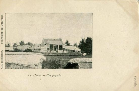 Một ngôi chùa chưa xác định tên