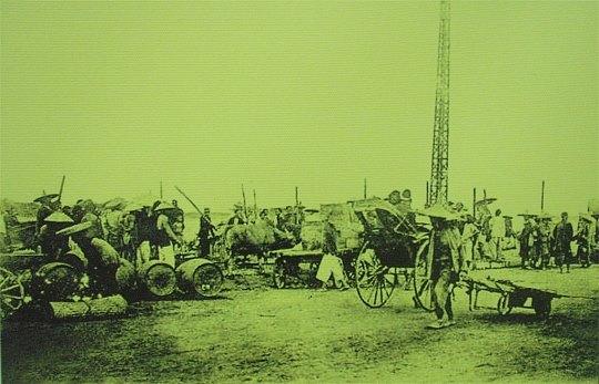 Chợ ven đường cái quan