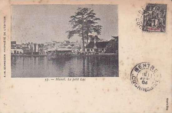 Phố xá quanh Hồ Gươm