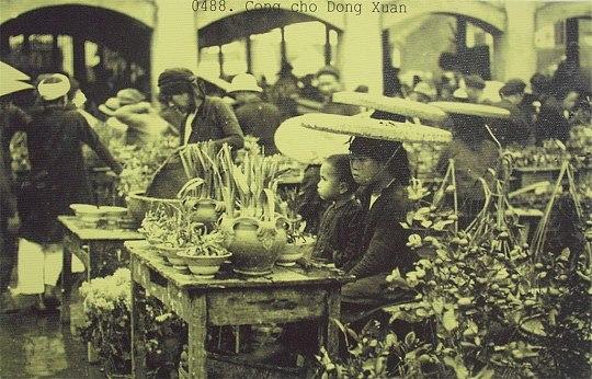Cổng chợ Đồng Xuân