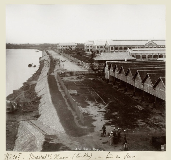 c.1890's INDOCHINA - HANOI - HOSPITAL