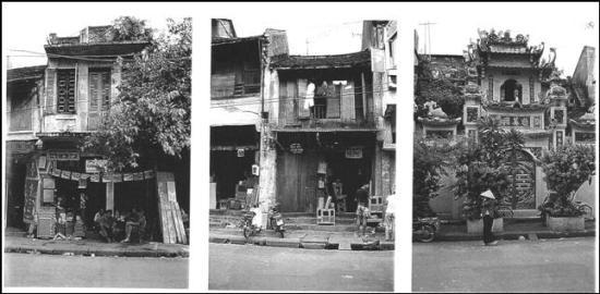 Phố Hàng Quạt năm 1941 .
