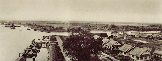 Sông SG và rạch Bến Nghé khi vùng Khánh Hội còn là đất trống