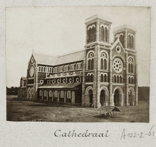 The Cathedral of Saigon 1888