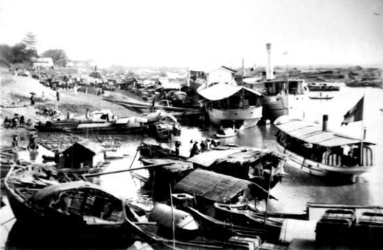 000.Bến tàu sông Hồng, thương cảng sầm uất của Thăng Long - Kẻ chợ xưa.