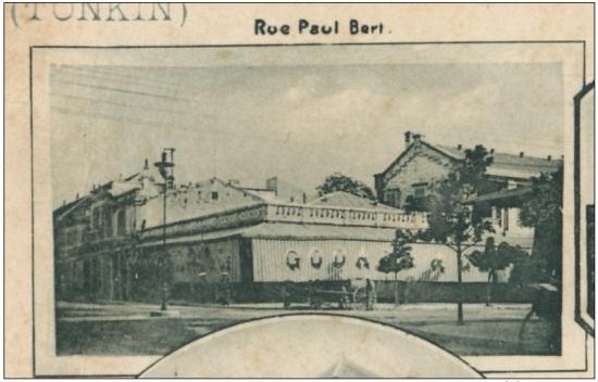 000.Hanoi Pionniere Rue Paul Bert Villa Paulus Fleuve Rouge 1900