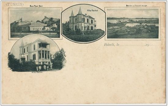 000.Tấm bưu thiếp nhưng năm 1900s