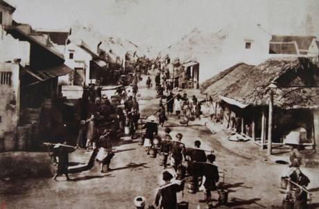 Phố Hàng Mắm 1895-1896