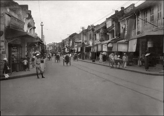 000e.Phố Hàng Đường-HANOI 1930