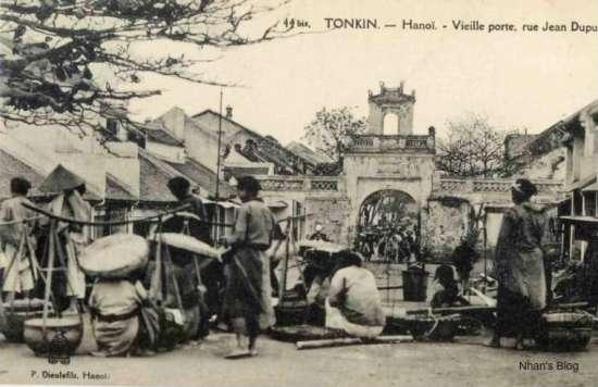 001.chợ Đông Hà xưa ở hà nội