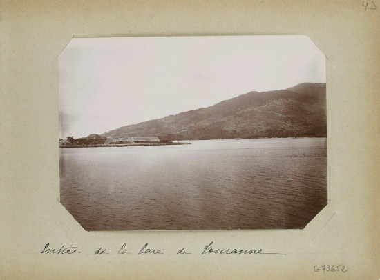 001.Entrée de la baie de Tourrane - Cửa vịnh Đà Nẵng