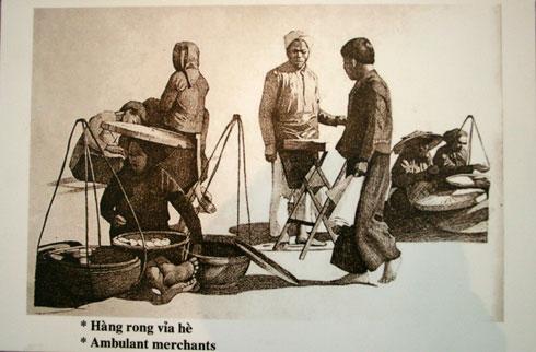 001.Những người bán hàng rong xưa ở Hà Nội