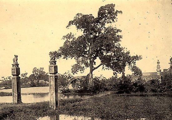 001.Phong cảnh tượng trưng trên dòng sông Hồng gần Hà Nội