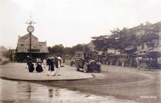 Cột Đồng Hồ xưa