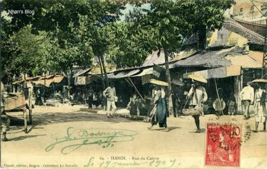 Phố Hàng Đồng (Rue Du Cuivre).