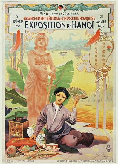 Affiche của cuộc triễn lãm diễn ra từ ngày 3/11/1902 đến 31/01/1903