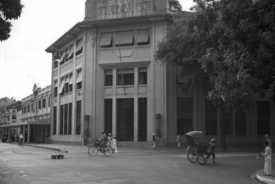 001a.Hanoi 1940 - Banque Franco-Chinoise 2