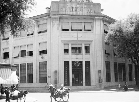 Hanoi 1940 - Banque Franco-Chinoise