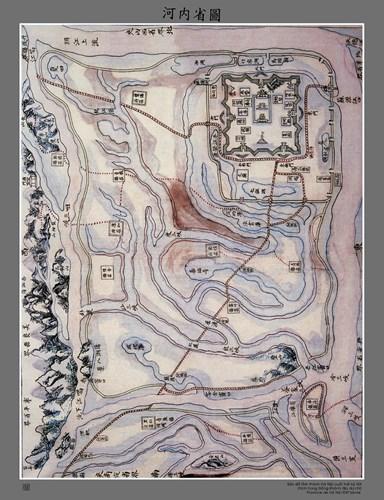 002.Bản đồ Hà Nội cuối thế kỷ 19 trong Đồng Khánh Địa Dư Chí.