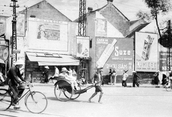 HANOI ca. 1940 - Rue du Pont-en-Bois. Phố Cầu Gỗ