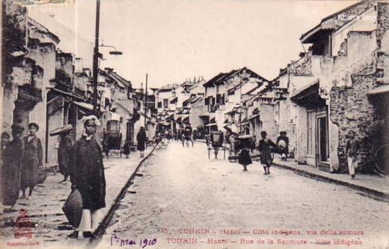 Phố Hàng Mắm (Rue de la Saumure) trước năm 1910