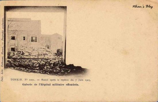 1002. Nhà thương Đồn Thủy (quân y viện 108) thành đống gạch vụn