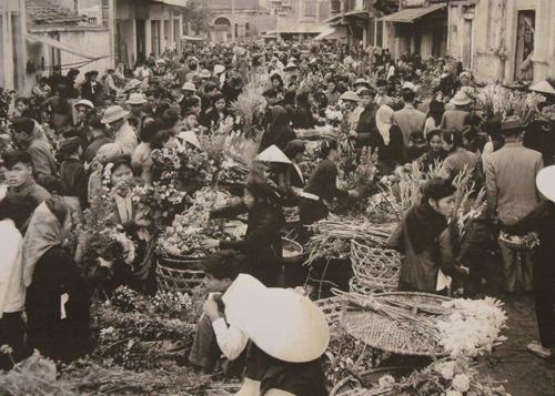 003.Chợ hoa ngõ Hàng Khoai.