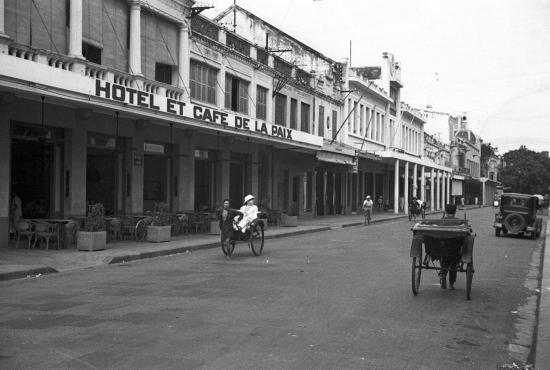 Hanoi 1940 - Rue Paul Bert