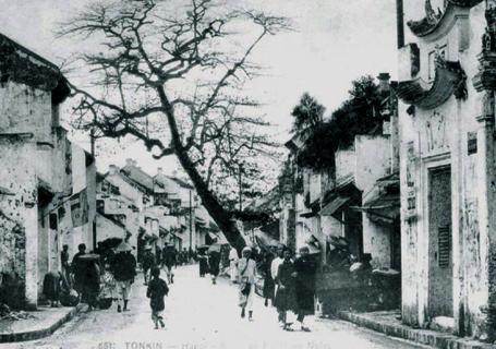 003.Phố Mã Mây – Rue Des Pavillons Noirs – circa 1920s
