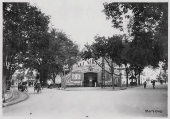003c.Năm 1920 ở Hà Nội, một người Pháp là Aste bỏ tiền xây dựng rạp Pathéa