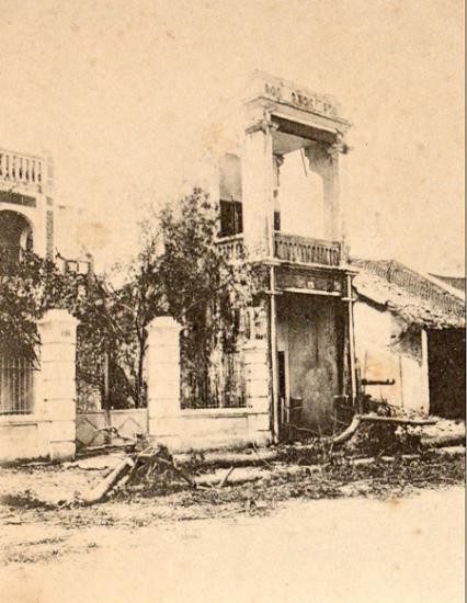 1004. Biệt thự trên phố Hàng Dầu (Rue Fellonneau)