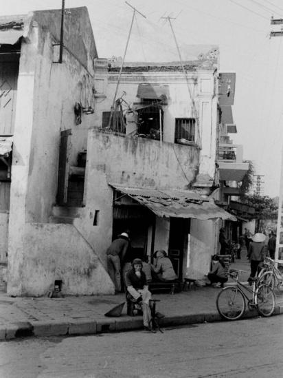 Góc phố Hàng Bè-Hàng Bạc năm 1980.