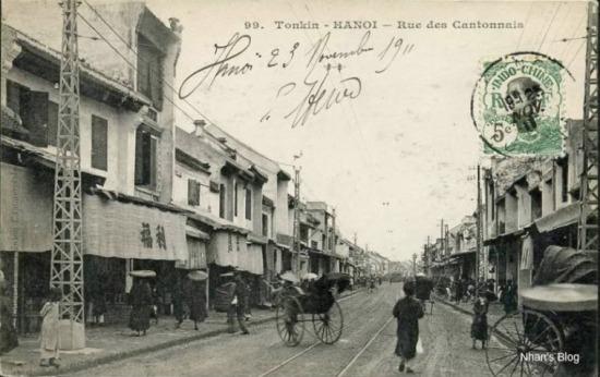 Phố Hàng Ngang xưa-Năm 1911