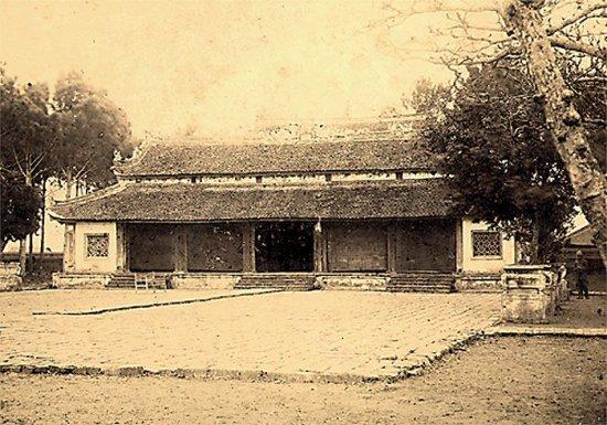006.Ðiện thờ chánh (chưa rõ) của thành Bắc-Ninh