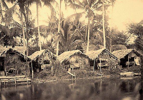 006.Làng làm nghề giấy cũng nhiều làng nghề khác đòi hỏi dòng nước chảy Tô Lịch gần Hà Nội