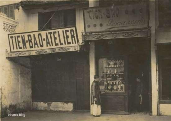 Một cửa hàng trên phố Hàng Bạc.