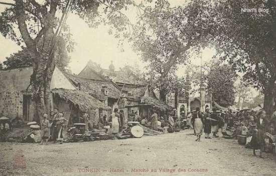 007.Chợ Bưởi nằm ở Ngã ba Lạc Long Quân - Thụy Khê ngày nay.